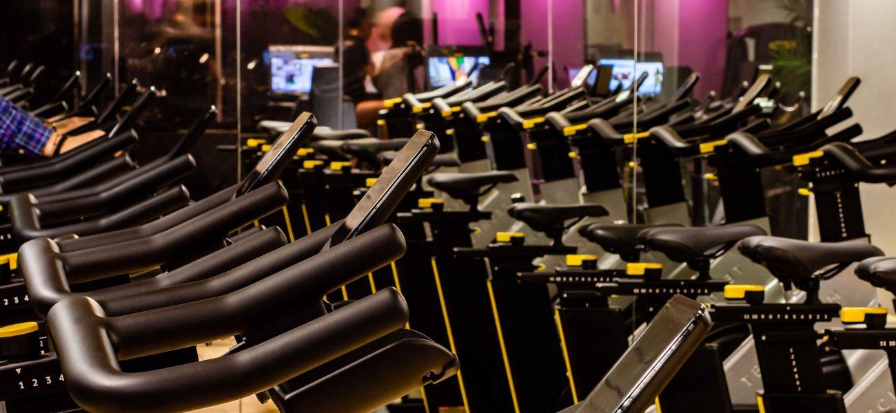 Sala Ciclo en Boutique Gym & Spa