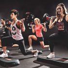 Clase de Body Pumps Les Mills en o2cw gimnasio fitness