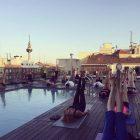 yoga solarium manuel becerra terraza madrid