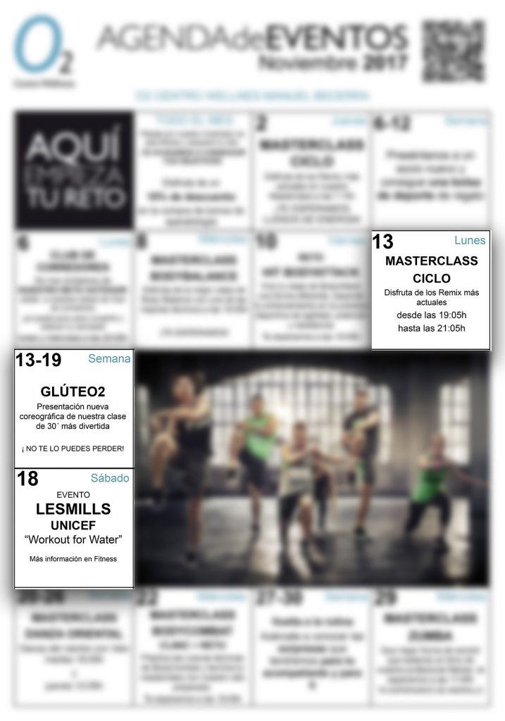 Agenda de eventos del mes de noviembre en madrid de o2cw manuel becerra