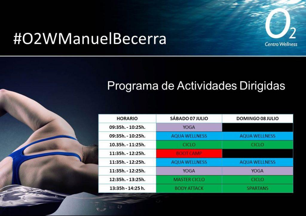 Programa de AADD Manuel Becerra 7-8 Julio
