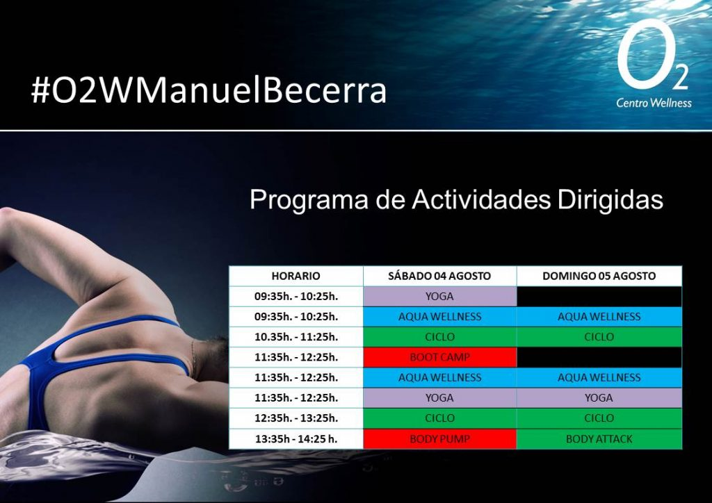 Horario AADD ManuelBecerra 4-5 Agosto