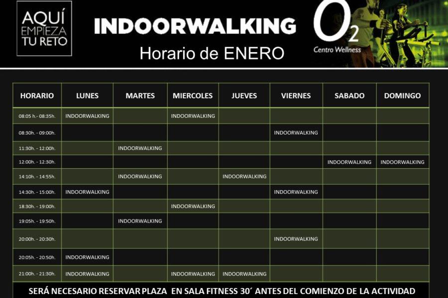 Planificación de Clases de Indoor Walking