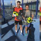 Campeones del torneo Felipe Parreдo y Raгl Garcбa