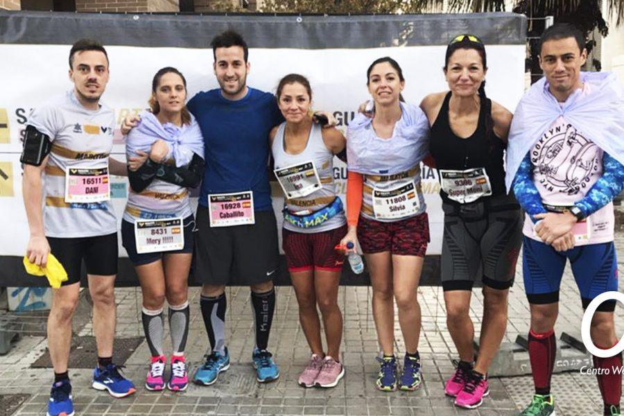 Nuestro club de Corredores en la Marathón de Valencia