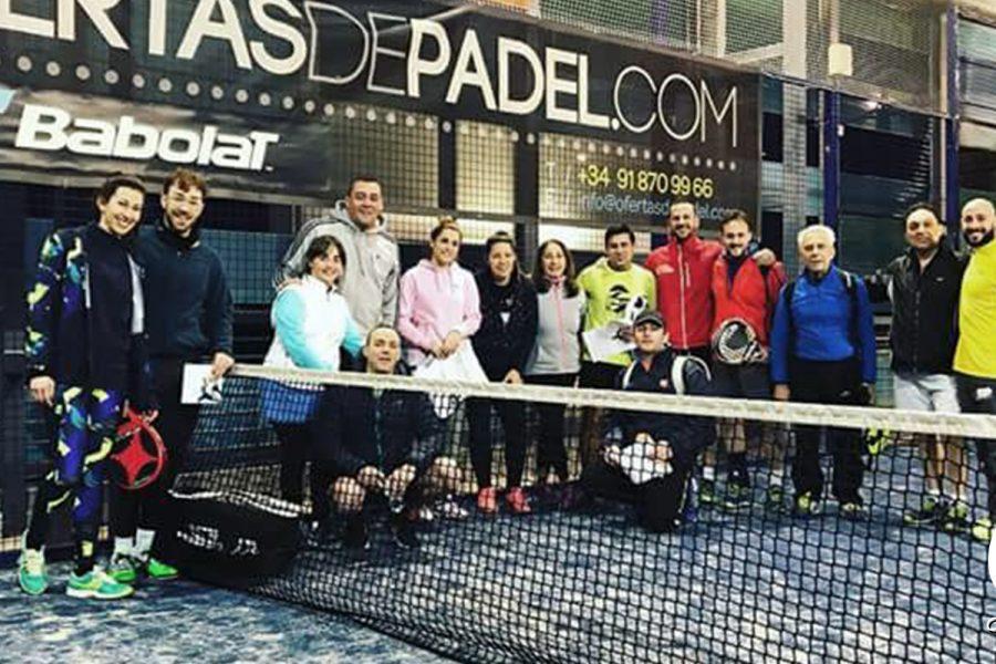 Los socios de Padel en nuestro 11 aniversario