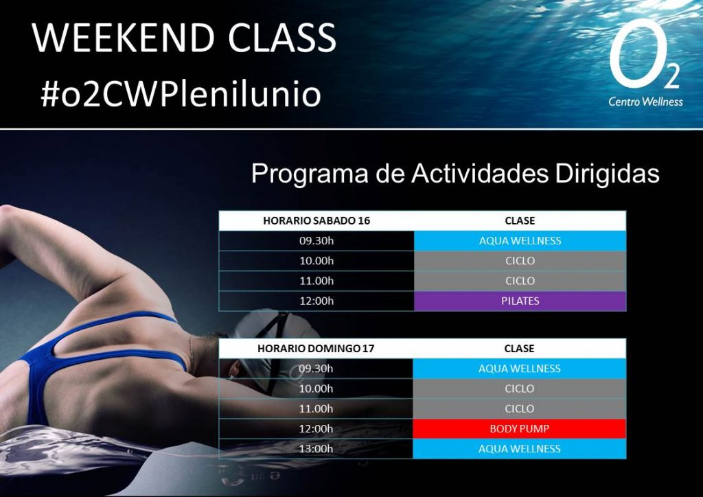 weekendclass 16-17JUNIO