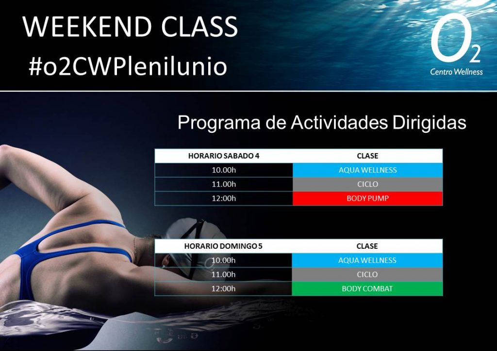 Weekend Class Plenilunio 4-5 Agosto