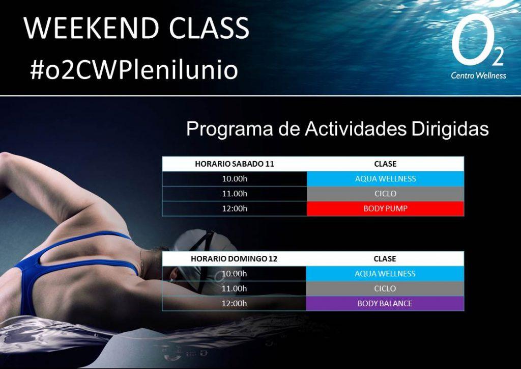 weekendclass 11-12 Agosto Plenilunio