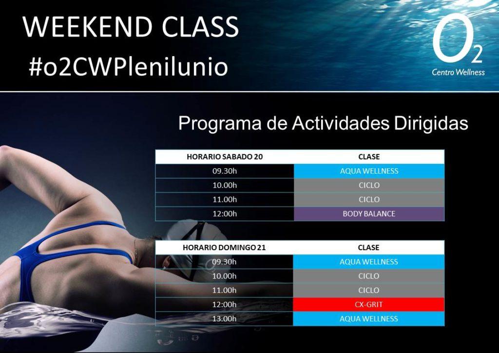 Weekendclass 20-21 de Octubre