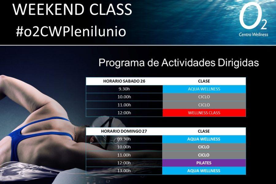 Planificación de nuestra WeekendClass – 02 y 03 de Febrero