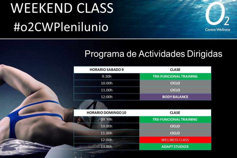 Planificación de nuestra WeekendClass – 09 y 10 de Febrero