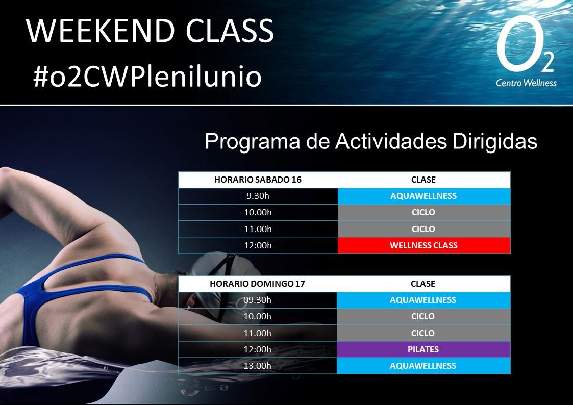 Planificación de nuestra WeekendClass – 16 y 17 de Febrero