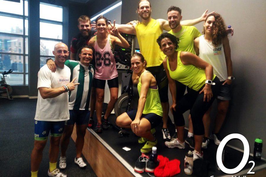 Así disfrutan nuestros socios en la Master Class Especial de Ciclo Indoor